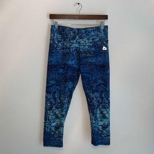 RBX Light & Dark Blue leggings size M